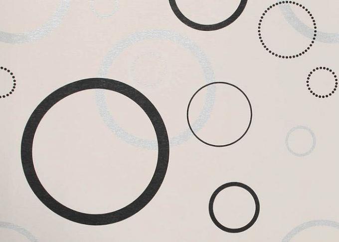 Carta da parati smontabile moderna tessuta non geometrica for Carta da parati moderna bianca e nera