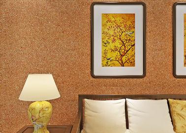 rivestimento murale della mica di 0.53*10m/colore moderno tessuto non di giallo della carta da parati del salone