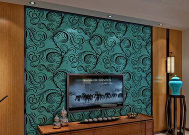 Rivestimento murale insonorizzato di lusso Wallpaper/3D della moltitudine del velluto con la dimensione di 0.7*10M, Eco amichevole
