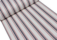 Mediterranean Modern Removable Wallpaper,Blue And Red Striped Wallpaper 0.53*10M