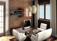 Removable Non-woven Vintage Style Living Room Wallpaper With Geometric Pattern,Anti-static