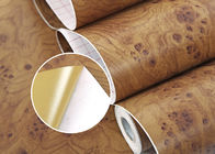 Durable Wood Grain Printing Modern PVC Self Adhesive Wallpaper , 0.45*10M